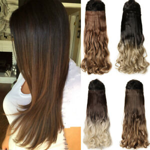 17 24 26 30 inch long straight wavy as remy human hair piece hair image is loading 17 24 26 30 inch long straight wavy pmusecretfo Gallery