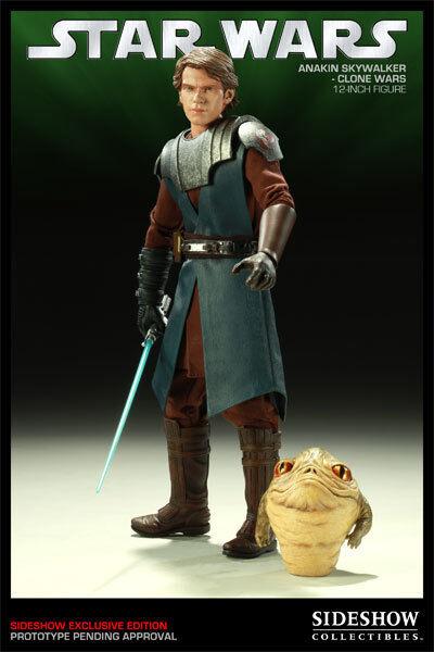 Sideshow Anakin Skywalker De Estrella Wars Clone Wars Héroes de la rebelión 1 6 Escala
