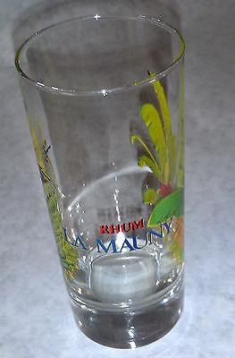 Rhum Blanc La Mauny Produced Martinque French Indies 5 OZ  Beer Tasting Glass