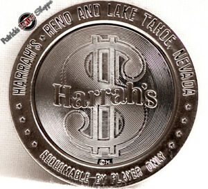 $1 PROOF-LIKE SLOT TOKEN JIM KELLEY/'S NUGGET CASINO 1966 FM MINT RENO LAKE TAHOE