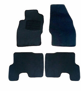 auto fu matten autoteppich textil matten f r opel corsa d. Black Bedroom Furniture Sets. Home Design Ideas