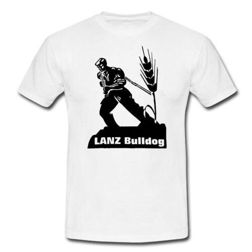 LANZ BULLDOGOldtimer T-ShirtTraktorSchlepperBauer        347-0