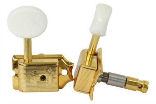 GOTOH SD91 locking adj height tuners 6-inline Gold