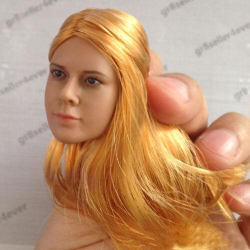 "Toys D003A//B 1//6 Scale Female head Sculpt For 12/"" Hot Toys Phicen Action Figure"