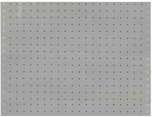 Triton Pegboard Rack Wall Storage Organizer Shop Home White Polypropylene 2 Pack