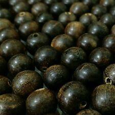 750 Gram Dark Brown Agarwood Loose Beads Gaharu Buaya 10 mm Aloeswood