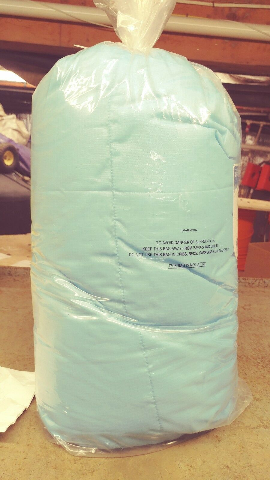 EMS Junior Solstice 20Aø Sleeping Bag  Left zip. Methyl bluee, brand new  good price