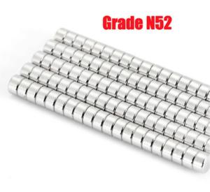 5mmx 3mm Rare Earth Round Disc Neodimium Utility Magnet N52