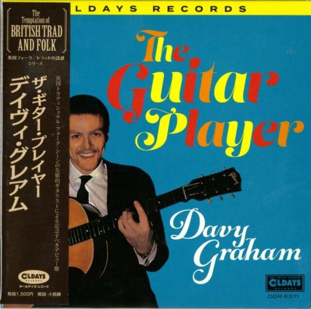 DAVY GRAHAM-THE GUITAR PLAYER-JAPAN MINI LP CD C94