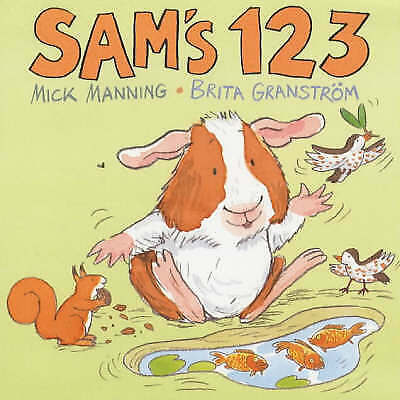 (Good)-Sam's 123 (Board book)-Manning, Mick-0744578337