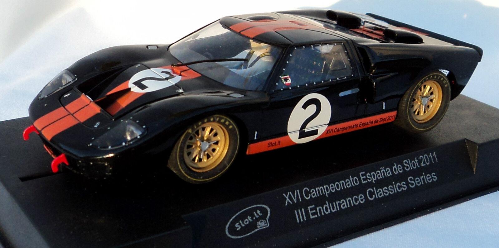 SLOT IT sisc 20 A FORD GT40 espagnol Championnats Limited Edition 1 32 SC20A