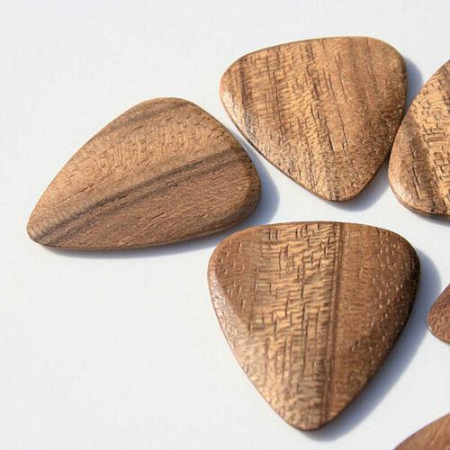 Ovangkol Picks Timber Tones Holzplektren Plecs Plektrum
