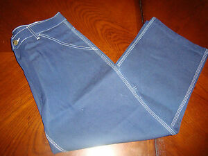Mens 34X28 Short 34 28 Work n' Sport Dungarees Jeans Work PantsPre Shrunk Cotton