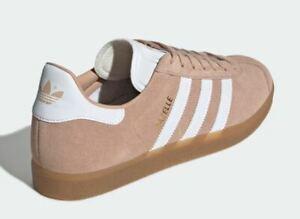 outlet on sale big sale detailed pictures Details about Adidas Originals Gazelle Color: Ash Pearl / Ftwr White / Gum  3, U.K. 8, BNIBWT