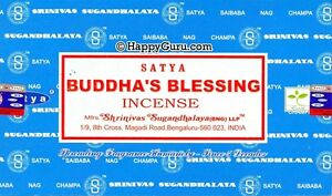 039-BUDDHA-039-S-BLESSING-039-NAG-CHAMPA-SATYA-SAI-BABA-INCENSE-STICKS-180g-15gx12