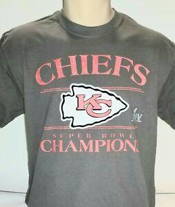 KC-Kansas-City-Chiefs-Super-Bowl-LIV-2020-Champions-Champs-T-shirt-Size-S-2xl