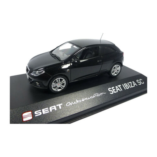 Modellauto 13839 Seat Ibiza SC schwarz metallic Maßstab 1:43 NEU!°