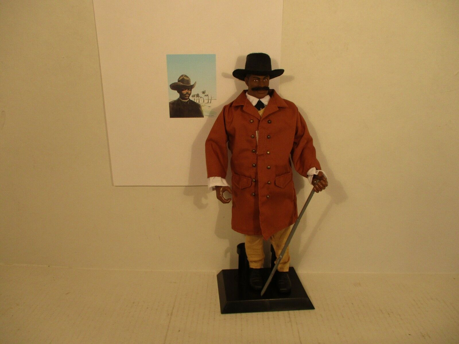 Bose - ikard cowboy - scout joshua deets alte west - 1   12  - figur