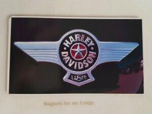 HARLEY-DAVIDSON-MOTORCYCLE-BADGE-LOGO-FRIDGE-MAGNET-M645-CCF