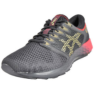 ce466a44 Details about Asics RoadHawk FF2 Mens Premium Running Shoes Fitness Gym  Trainers Black