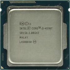 qQTY 1x Intel CPU i5-4590T Quad-Cores 2.0Ghz LGA1150 SR1S6 NOT WORKING