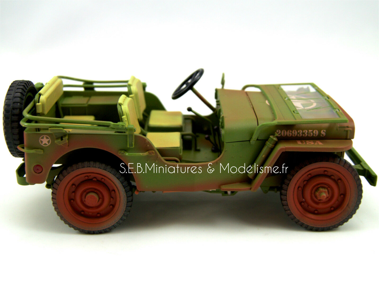 JEEP WILLYS WILLYS WILLYS U.S.ARMY VERSION LOOK  SALE  1942 1 18 T9 9e4708