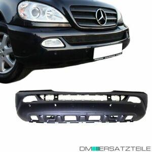 Mercedes-ML-W163-01-05-Stossstange-vorne-grundiert-fuer-SRA-amp-PDC-Mopdelpflege-NEU