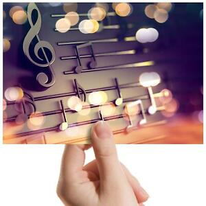 Musical-Notes-Perfect-Sound-Small-Photograph-6-034-x-4-034-Art-Print-Photo-Gift-16485