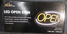 Neon Led Open Sign Flashing Bright Electric For Business Window Bar Shop Wall