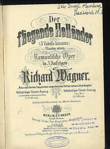 Richard-Wagner-Der-fliegende-Hollaender-Klavierauszug-mit-Text-in-D-und-I