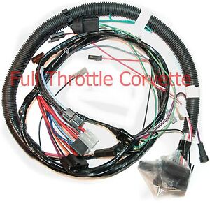 1981 corvette engine wiring harness w/ automatic trans | ebay  ebay
