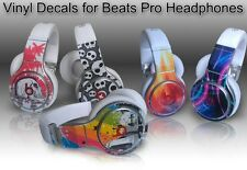 Choose Any 2 Vinyl Skins for Monster Beats Pro by Dr. Dre Skin - Free Shipping