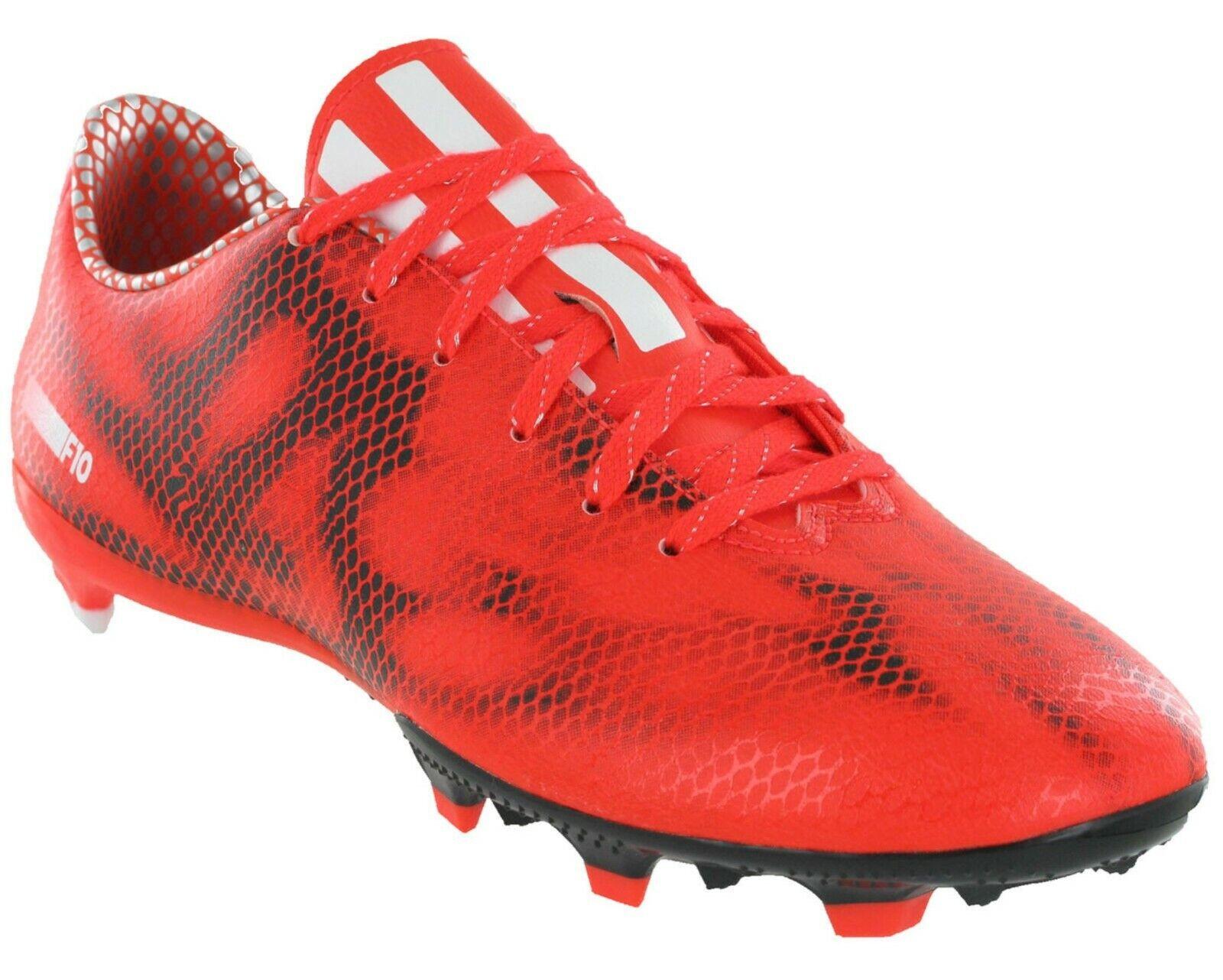 El aclaramiento    Adidas F10 FG para Hombre botas de fútbol (D) (B34859)