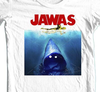 Jawas Star Wars Jaws Tee Top  Unisex T Shirt B677