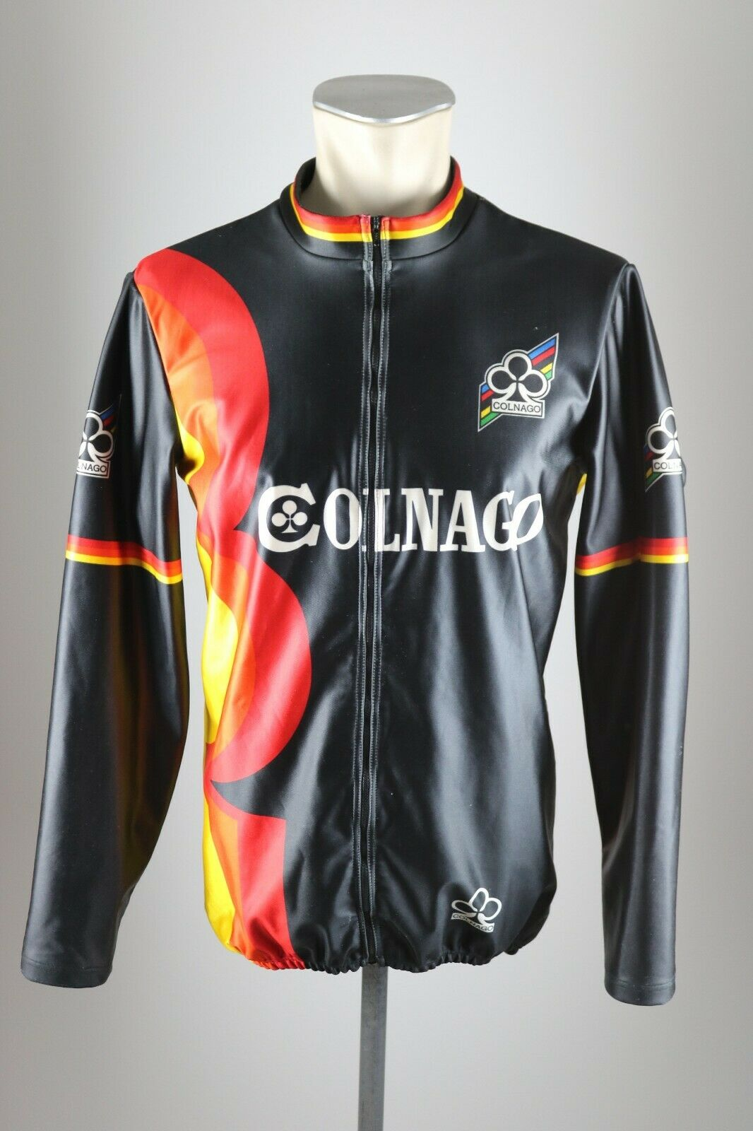 vintage 80s 90s Colnago cycling Jacke Trikot Gr. 5 BW 57cm Bike jersey AZ4