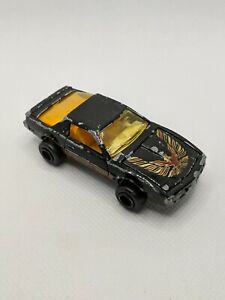 Majorette #248/293 Pontiac Firebird Trans Am Black w/Red Interior 1/62 Diecast