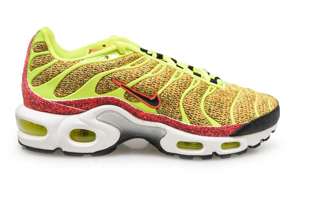 Femme Nike Tuned se 1 Air Max plus se Tuned - 862201700-Volt Noir Hot Punch Baskets- Chaussures de sport pour hommes et femmes d8995f