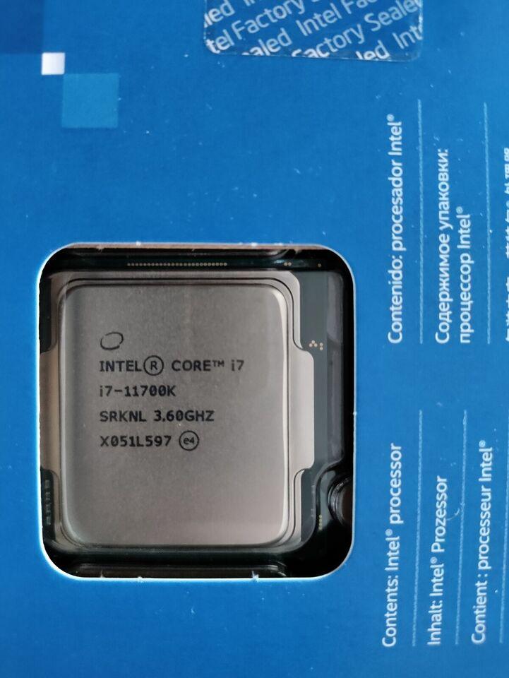 Core i7, Intel, 11700K