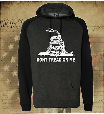 JOIN OR DIE DON/'T TREAD ON ME GADSDEN AMERICAN FLAG HOODED SWEATSHIRT HOODIE