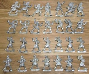 Warhammer-Citadel-Blood-Bowl-Wood-Elf-Team-Figures-OOP-Metal