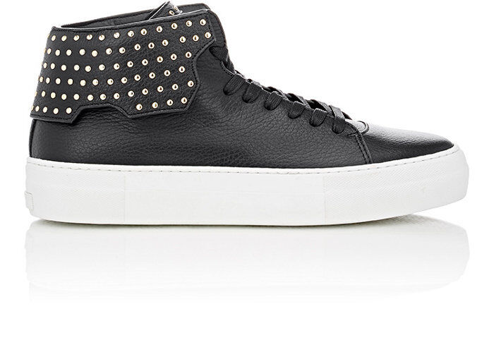 Authentic BUSCEMI Studded 90MM Barneys Exclusive High-Top Sneakers SIZE 9 US