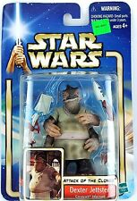 Hasbro Star Wars Attack of the Clones Dexter Jettster Action Figure NEW