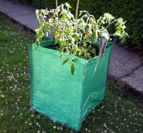 "GARDEN PLANTER SACK VEG TOMATO PATIO CONTAINER 90 litre 3x 19/"" POTATO GROW BAG"