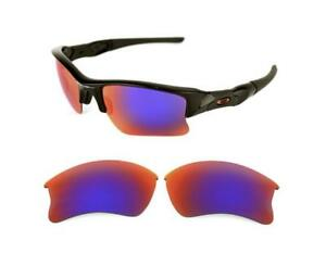 c855c98c16e NEW POLARIZED CUSTOM LIGHT +RED XLJ LENS FOR OAKLEY FLAK JACKET ...