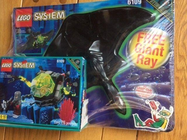 LEGO Aquazone StinGriss Sea Creeper  6109