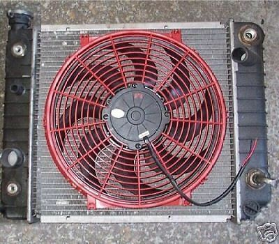 FORD BRONCO II EXTREME ELECTRIC COOLING FAN CONVERSION KIT MORE MPG AND HP