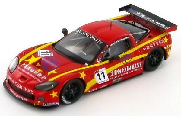 SPARK Corvette Z06  11 FIA GT1 2011 M. Hezemans - N. Catsburg LE  300 SA011 1 43