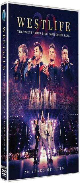 WESTLIFE - THE TWENTY TOUR-LIVE FROM CROKE PARK (DVD/CD) Sent Sameday*
