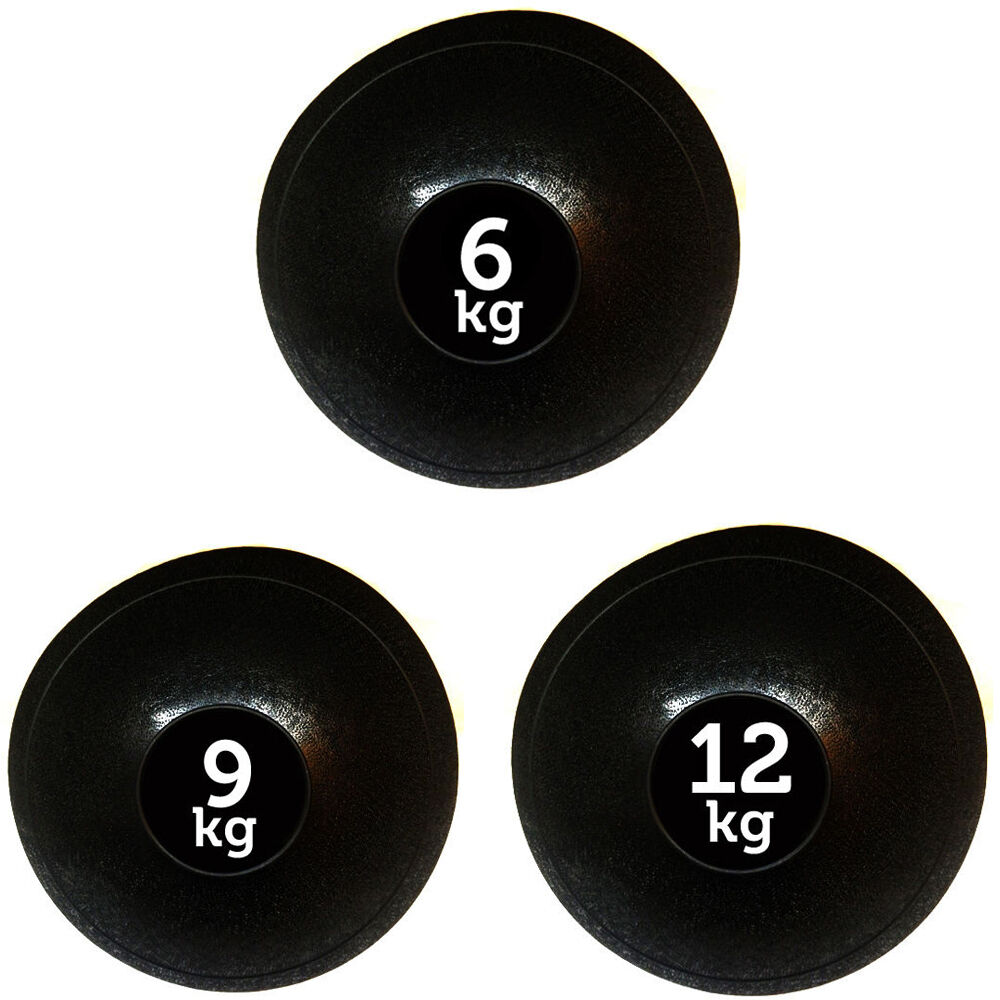 FXR Sports Set di 3 SLAM BALL NO Bounce Medicine Balls Fitness MMA - 6,9,12KG