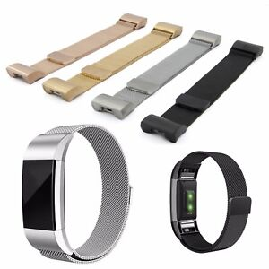 Milanaise-Pulsera-de-repuesto-para-fitbit-charge-2-Fitness-Tracker-acero-inoxidable-Milanese